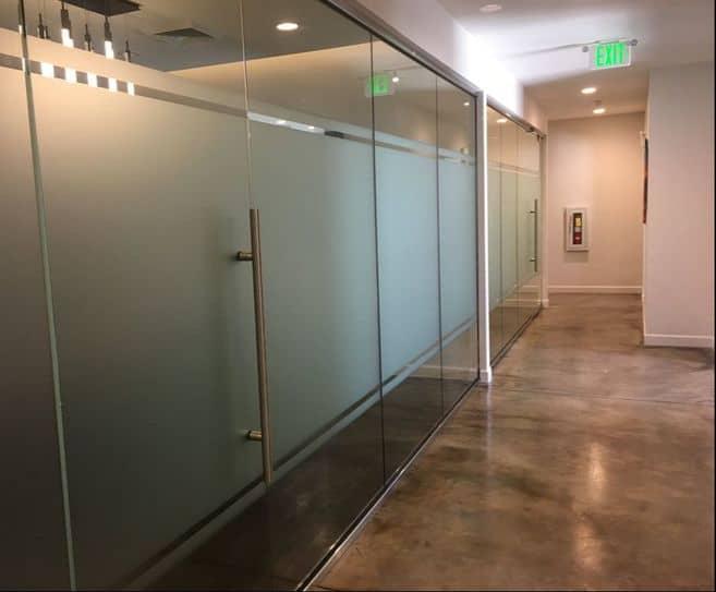 Decorative Window Film Can Transform Plain Glass Into Elegant Privacy