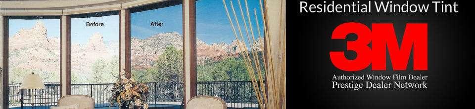 3M Residential Window Tinting Utah