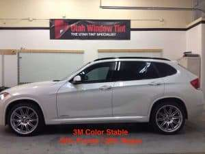 Utah Window Tint for BMW Automobiles