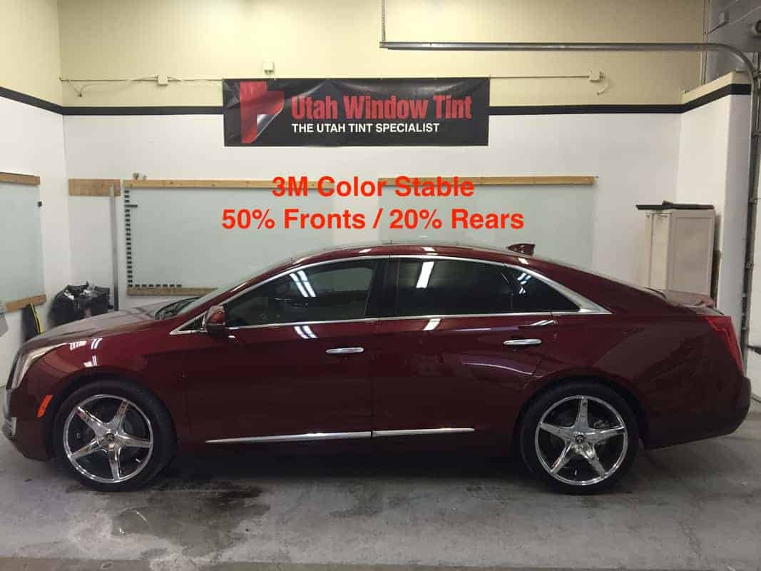 Utah Window Tint for Cadillac Automobiles