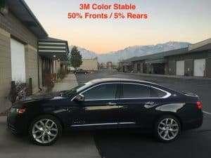 Utah Window Tint for Impala Automobiles